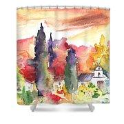 Saint Bertrand De Comminges 07 Shower Curtain