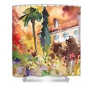 Saint Bertrand De Comminges 12 Shower Curtain