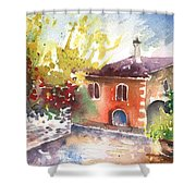 Saint Bertrand De Comminges 13 Shower Curtain