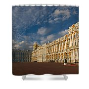 Saint Catherine Palace Shower Curtain by David Smith