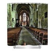 Saint Emilion Church Shower Curtain