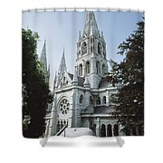 Saint Finbarres Cathedral, Cork City Shower Curtain