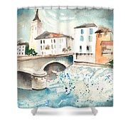 Saint Girons 02 Shower Curtain