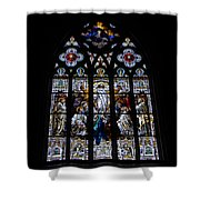 Saint Johns Stained Glass Shower Curtain