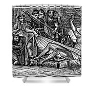 Saint Lawrence (c225-258) Shower Curtain by Granger