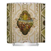 Saint Louis Cathedral Mural Shower Curtain