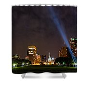 Saint Louis Lights Shower Curtain