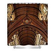 Saint Marys Church Interior 1 Shower Curtain