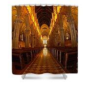 Saint Marys Church Interior 3 Shower Curtain