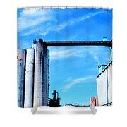Saint Mary's Grain Mill Shower Curtain