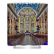 Saint Michael Shower Curtain