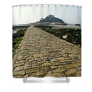 Saint Michael's Mount Shower Curtain