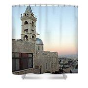 Saint Nicholas Church Beit Jala Shower Curtain