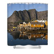 Sakrisoy Shower Curtain