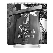 Salem Witch Museum Shower Curtain