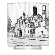 Salisbury Cathedral: Close Shower Curtain