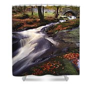 Sally Gap, County Wicklow, Ireland Shower Curtain