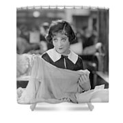 Sally Oneil: Becky, 1927 Shower Curtain