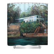 Sally's Hideaway Shower Curtain