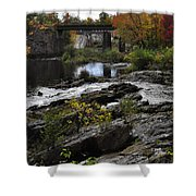 Salmon Falls Sfp Shower Curtain
