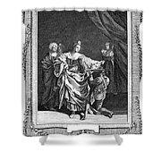 Salome & John The Baptist Shower Curtain