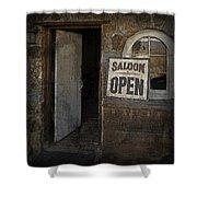 Saloon Open Shower Curtain