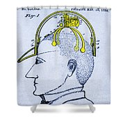 Saluting Device Shower Curtain