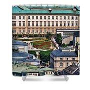 Salzburg II Austria Europe Shower Curtain by Sabine Jacobs