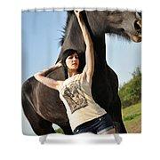 Sam16 Shower Curtain
