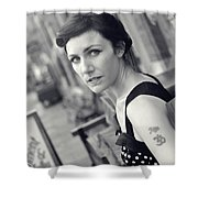 Sam2 Shower Curtain