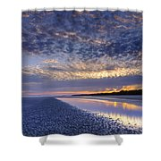 Same Night Five Fifty Two Pm Shower Curtain