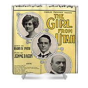 Same Sort Of Girl Shower Curtain by Mel Thompson