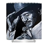 Sammy Davis Jr Shower Curtain