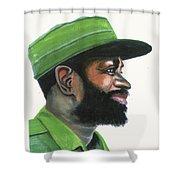 Samora Moises Machel Shower Curtain