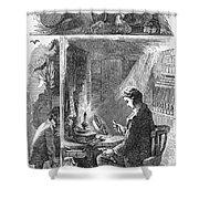 Samuel Crompton (1753-1827) Shower Curtain