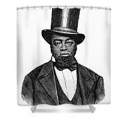 Samuel D. Burris Shower Curtain by Granger