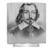 Samuel De Champlain Shower Curtain by Photo Researchers
