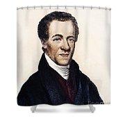 Samuel E. Cornish Shower Curtain by Granger
