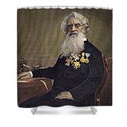 Samuel F.b. Morse (1791-1872) Shower Curtain