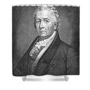 Samuel Latham Mitchill Shower Curtain