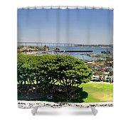 San Diego Shower Curtain