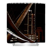San Diego Lights At Night Shower Curtain