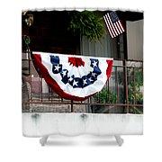 San Diego Waterfront Shower Curtain