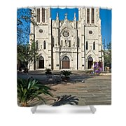 San Fernando Cathedral Shower Curtain