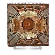 San Francisco City Hall Ceiling Shower Curtain