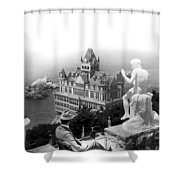 San Francisco Cliff House Shower Curtain