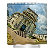 San Francisco Colvbarivm Shower Curtain