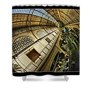 San Francisco Ferry Building Interior Shower Curtain