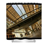 San Francisco Ferry Building Walkway Shower Curtain