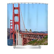 San Francisco Golden Gate Bridge . 7d8157 Shower Curtain